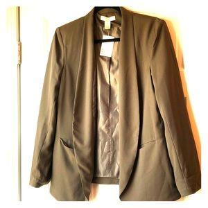 Women's - NWT - size 10 - H&M's army green blazer